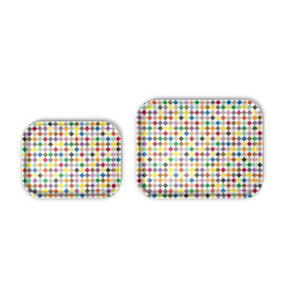 CLASSIC TRAY LARGE DIAMONDS MULTICOLOUR PACKAGE OF 5